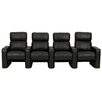 Freeport Park Manual Rocker Recline Home Theater Row Seating (Row of 4)