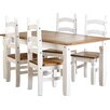 August Grove Angelina Dining Set with 4 Chairs