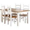 Sommerallee Essgruppe Angelina mit 4 Stühlen
