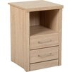 Riley Ave. Keanu 2 Drawer Bedside Table