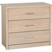 Riley Ave. Keanu 3 Drawer Chest of Drawers