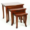 Rosalind Wheeler Beecher 3 Piece Nest of Tables
