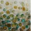 Vintage Boulevard Spring Bubbles Framed Wall Art on Canvas