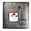 Vintage Boulevard Abstract Flowers I Wall Décor