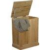 Baumhaus Mobel Oak Cabinet Laundry Bin