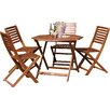 Prestington Plumley 4 Seater Dining Set