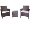 Ebern Designs Kendal 3 Piece Patio Deep Seating Seating Group with Cushion