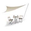 Relaxdays Sun 2.85m x 3.6m Triangular Shade Sail