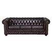 Home & Haus 3-Sitzer Chesterfield Sofa York