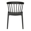 Woood Bliss Plastic Dining Chair (Set of 2)