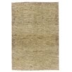 Caracella Gabbeh Afghan Hand-Woven Wool Grey/Yellow Area Rug