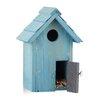 Relaxdays Nesting Wooden Box Hanging Bird House