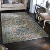 Williston Forge Trinh Orange/Brown Area Rug