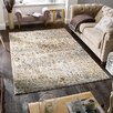 Rosalind Wheeler Abbott Cream/Brown Area Rug