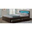 Wade Logan Connor Upholstered Storage Bed Frame