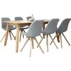 Fjørde & Co Frances Dining Table and 6 Chairs