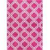 Latitude Vive StarBright Pink Area Rug