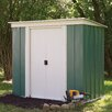 Rowlinson 6 x 4 Metal Storage Shed