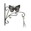 Relaxdays Butterfly Wall-Mounted Plant Bracket