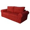Hazelwood Home Barca Formal Back 2 Seater Sofa