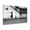 LoftDesigns Gerahmtes Leinwandbild Hope von Banksy
