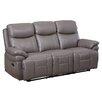 Hyde Line Furniture Trisha Geniune Leather 3 Seater Reclining Sofa