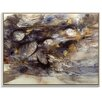 Artist Lane 'Riverbed 1' by Katherine Boland Framed Painting Print on Canvas