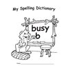 Edupress My Spelling Dictionary Book (Set of 4)