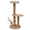 "PetPals 46"" Cat Tree with Multiple Teasers and Sisal Posts"