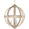 Pacific Lifestyle Harvey 3 Light Globe Pendant