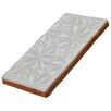 """EliteTile Antiqua Sensations 3"""" x 6"""" Ceramic Subway Tile in White"""