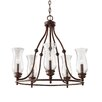 Feiss Pickering Lane 5 Light Candle Chandelier
