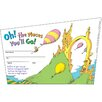 Eureka! Seuss-oh The Places Youll Go Name Tag (Set of 2)
