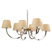 Fortuna Lighting FAIRMONT 8 Light Chandelier