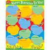 Eureka! Dr Seuss Birthday Poster (Set of 3)