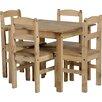 Mühlenhaus Essgruppe Harold Parker mit 4 Stühlen