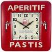 Roger Lascelles Clocks Square Tin Bistro Wall Clock