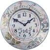 Roger Lascelles Clocks 36cm French Herbes Wall Clock