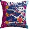 Koko Company Mexico Carina Print Cotton Throw Pillow