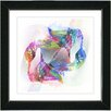 Studio Works Modern 'Road to the Clouds' by Zhee Singer Framed Graphic Art