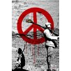 Maxwell Dickson Time 4 Peace Graphic Art on Wrapped Canvas