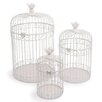 small foot 3-Pice Decorative Birdcage Set