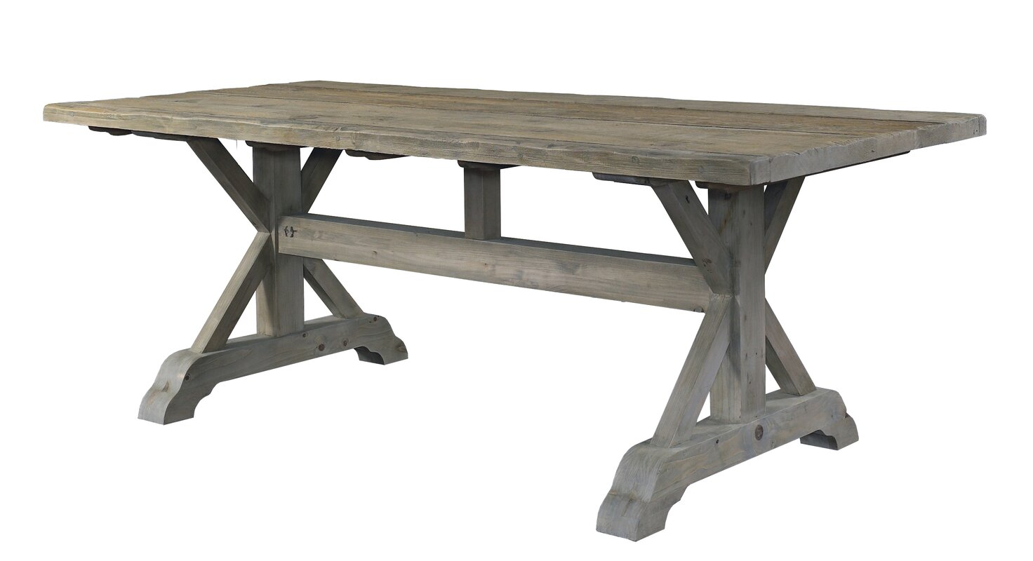 Outdoor wood dining table - Default_name