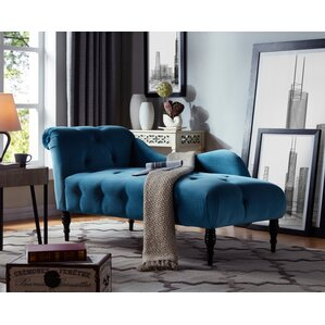 Superb Dagnall Fabric Chaise Lounge Part 26