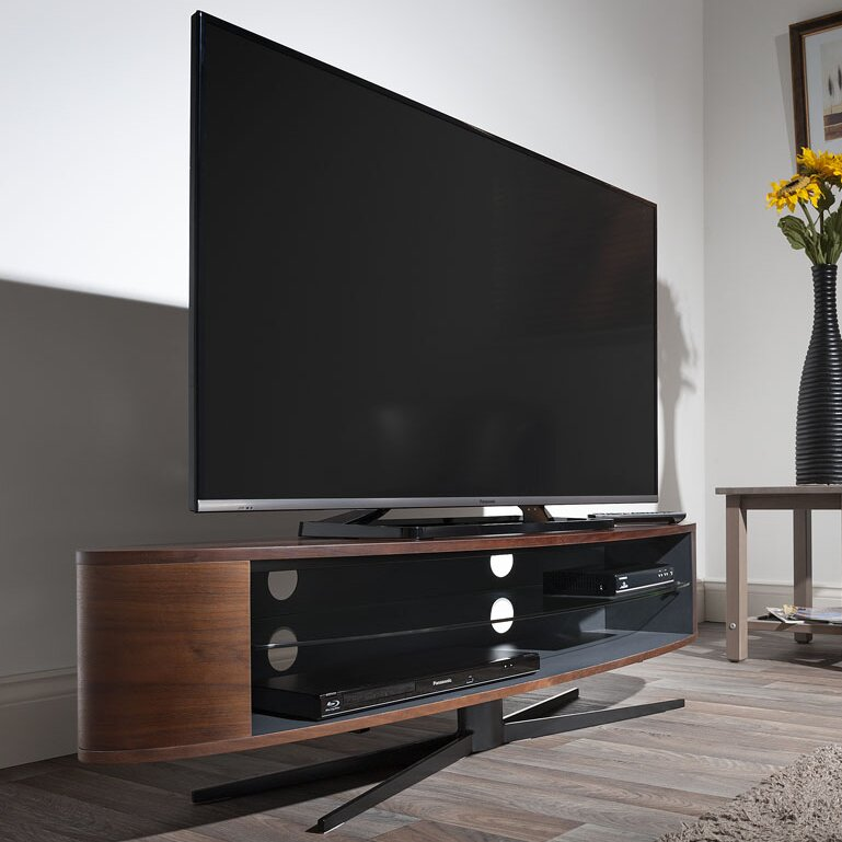 techlink tv regal ellipse f r fernseher bis 70 bewertungen. Black Bedroom Furniture Sets. Home Design Ideas
