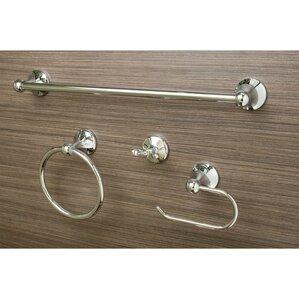 Delightful Ventura 4 Piece Bathroom Hardware Set