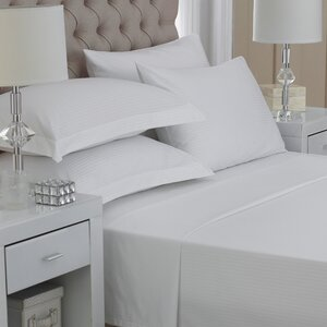 Monarch 500 Thread Count Egyptian-Quality Cotton Fitted Sheet