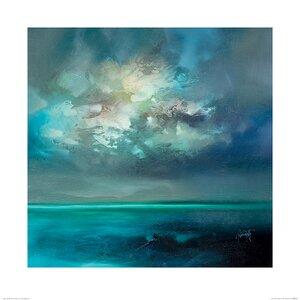 'Isle of Skye Emerges' Painting Print
