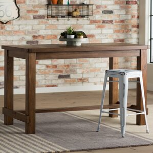 Industrial Kitchen  Dining Tables Youll Love Wayfair - Industrial dining room table