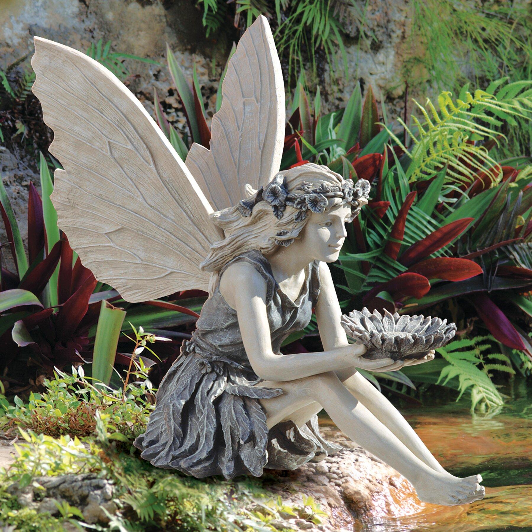 Fairy lawn ornaments - The Sunflower Fairy Statue